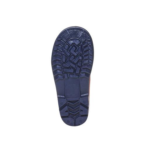 Stivali di gomma da bambino spiderman, rosso, 292-5190 - 26