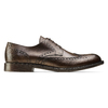 Derby da uomo in pelle bata, marrone, 824-4429 - 26
