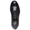 Scarpe basse da uomo in pelle bata, nero, 824-6596 - 19