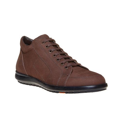 Sneakers da uomo in pelle flexible, marrone, 846-4205 - 13