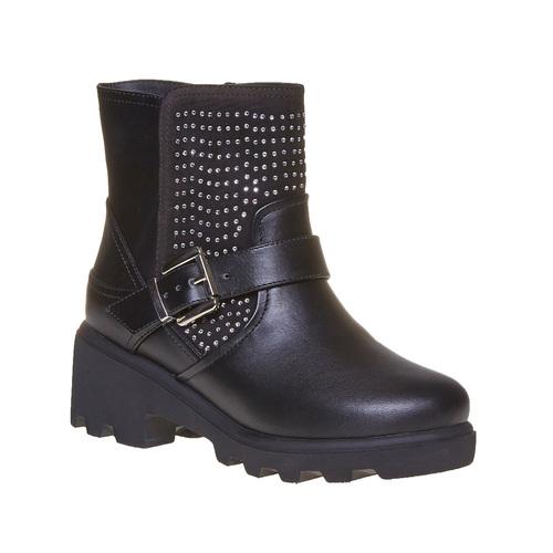Stivali con suola massiccia mini-b, nero, 391-6237 - 13