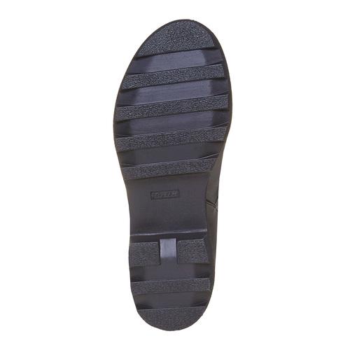 Stivali con suola massiccia mini-b, nero, 391-6237 - 26