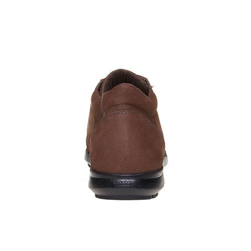 Sneakers da uomo in pelle flexible, marrone, 846-4205 - 17