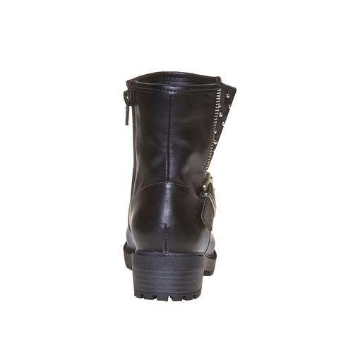 Stivali con borchie di metallo mini-b, nero, 391-6248 - 17