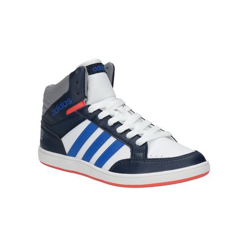 Sneakers da bambino alla caviglia adidas, bianco, 401-1231 - 13