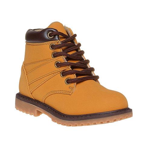 Scarpe da bambino alla caviglia mini-b, giallo, 291-8163 - 13