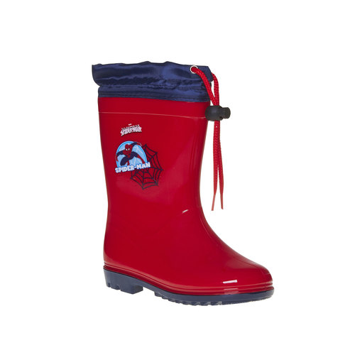 Stivali di gomma da bambino spiderman, rosso, 292-5190 - 13