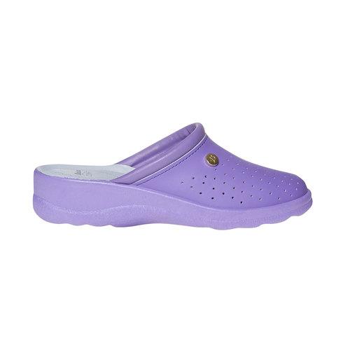 Pantofole da donna, viola, 574-9347 - 15
