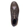 Sneakers da uomo in pelle bata, grigio, 844-2686 - 19