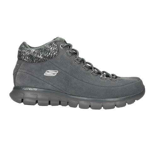 Scarpe sportive invernali da donna skechers, grigio, 503-2357 - 15