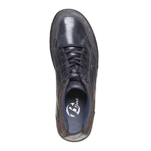 Scarpe di pelle alla caviglia bata, nero, 844-6502 - 19