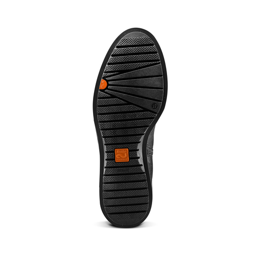 Stivali alti Flexible da donna flexible, nero, 594-6651 - 17
