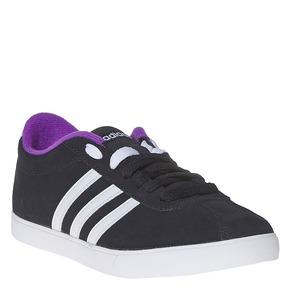 Sneakers da donna in pelle adidas, nero, 503-6201 - 13