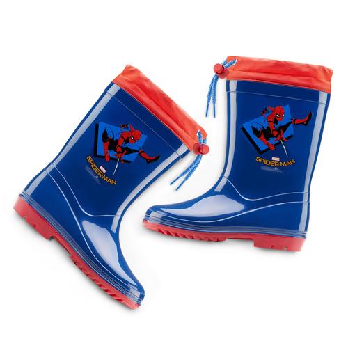 Stivali di gomma Spiderman spiderman, blu, 392-9190 - 19