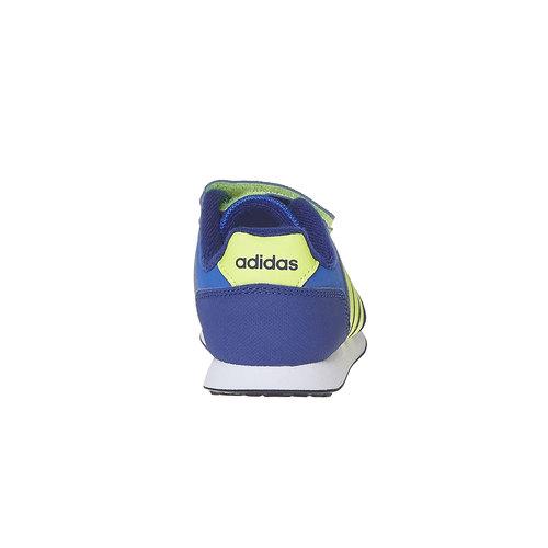 Sneakers da bambino con chiusure a velcro adidas, viola, 101-9913 - 17