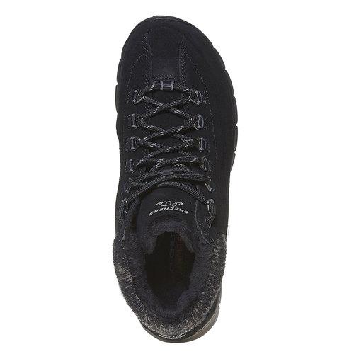 Scarpe da donna alla caviglia skechers, nero, 503-6357 - 19