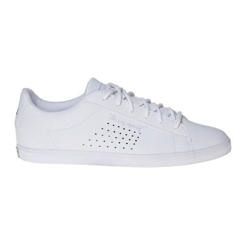 Sneakers da donna con perforazioni le-coq-sportif, bianco, 501-1236 - 15