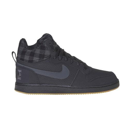 Sneakers da uomo sopra la caviglia nike, nero, 801-6632 - 15