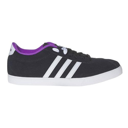 Sneakers da donna in pelle adidas, nero, 503-6201 - 15