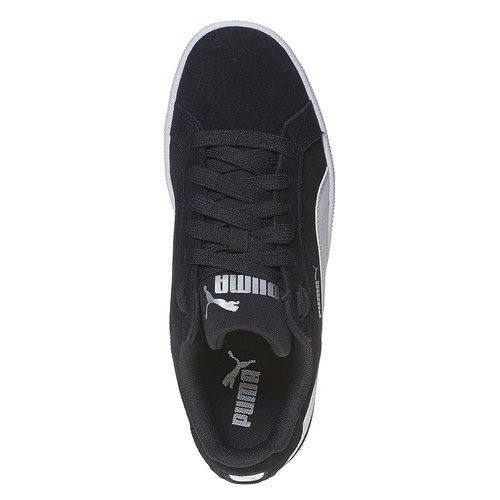 Sneakers da donna in pelle puma, nero, 503-6210 - 19