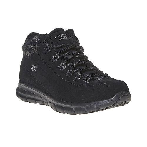 Scarpe da donna alla caviglia skechers, nero, 503-6357 - 13