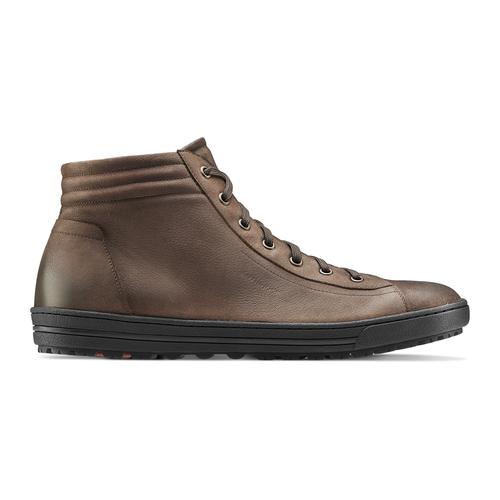 Sneakers da uomo in pelle bata, marrone, 894-4295 - 26