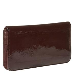 Portafoglio verniciato da donna bata, rosso, 941-5144 - 13