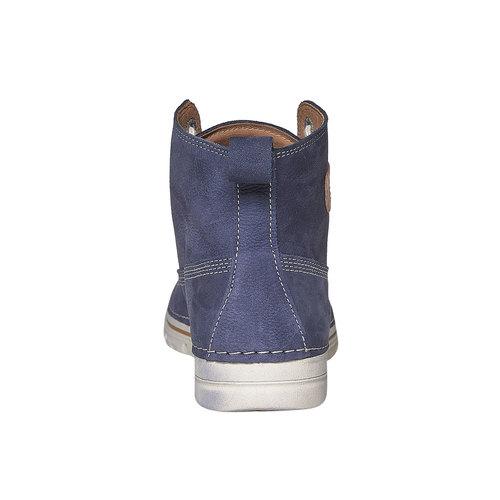 Scarpe da donna sopra la caviglia weinbrenner, blu, 594-9323 - 17