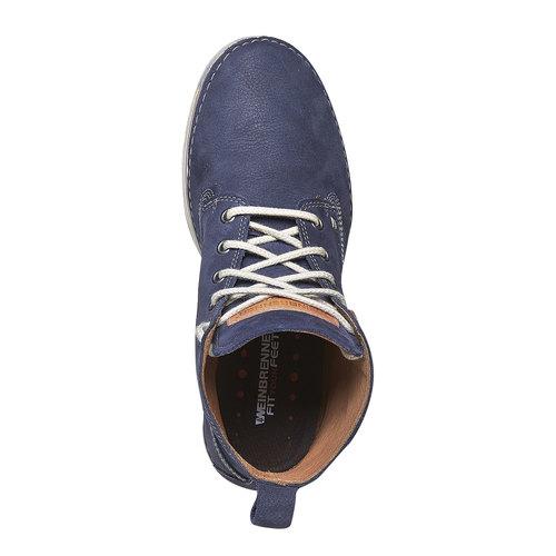 Scarpe da donna sopra la caviglia weinbrenner, blu, 594-9323 - 19
