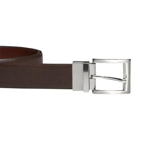 Cintura da uomo in pelle bata, marrone, 954-4123 - 26