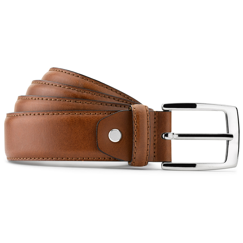 Cintura in vera pelle bata, marrone, 954-3170 - 13