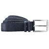 Cintura blu in pelle bata, blu, 954-9120 - 13