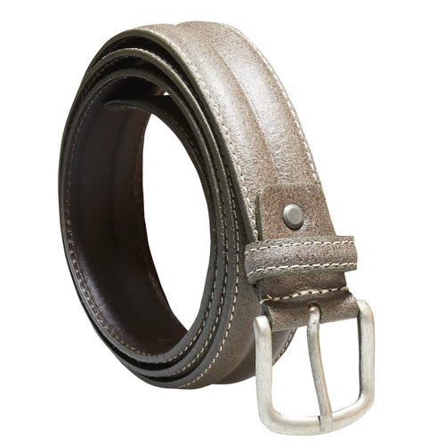 Cintura da uomo in pelle bata, marrone, 954-8128 - 13