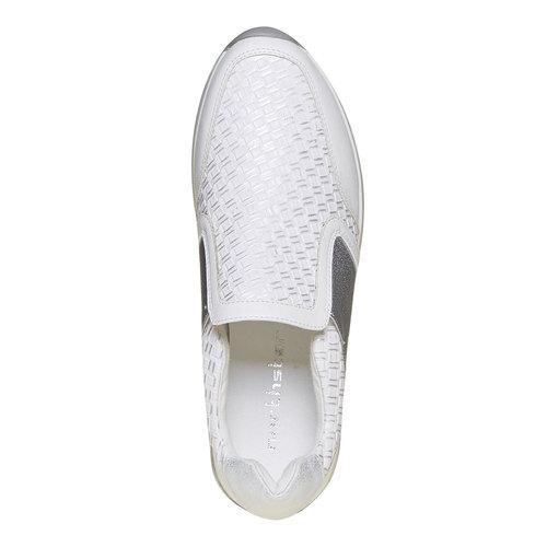 Sneakers da donna senza lacci north-star, bianco, 531-1121 - 19