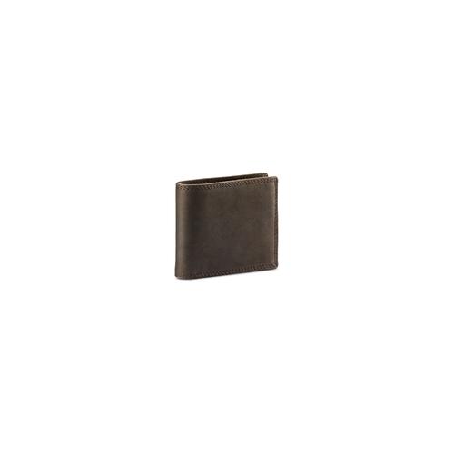Portafoglio in pelle da uomo bata, marrone, 944-4129 - 13