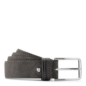 Cintura in suede bata, grigio, 953-2807 - 13