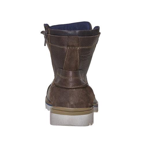 Scarpe da uomo alla caviglia, marrone, 894-4689 - 17