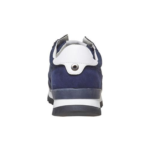 Sneakers da uomo con suola appariscente north-star, blu, 849-9691 - 17