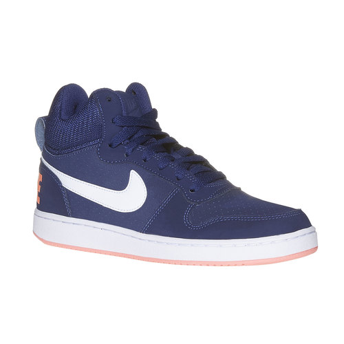 Sneakers da donna sopra la caviglia nike, blu, 501-9332 - 13