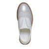 Scarpe basse da bambina con strass, grigio, 321-2246 - 19