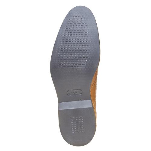 Scarpe basse marroni in stile Oxford bata-the-shoemaker, marrone, 824-8776 - 26