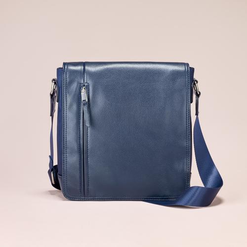Tracolla da uomo bata, blu, 961-9508 - 13