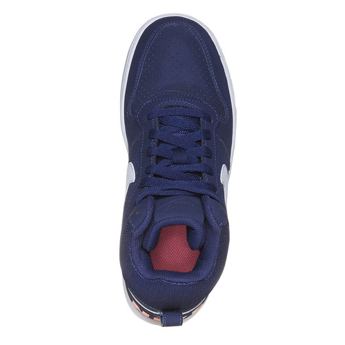 Sneakers da donna sopra la caviglia nike, blu, 501-9332 - 19