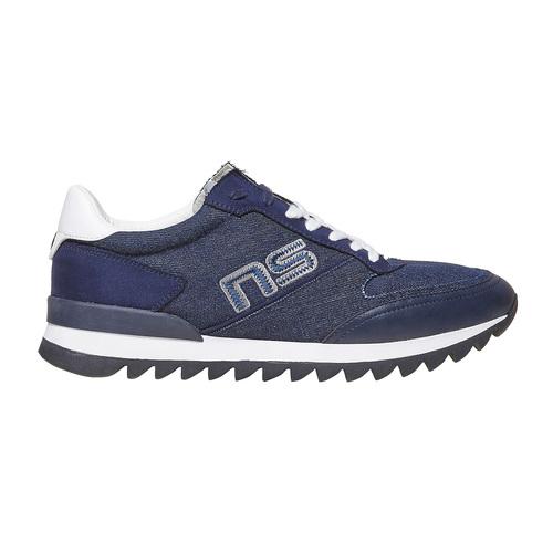 Sneakers da uomo con suola appariscente north-star, blu, 849-9691 - 15