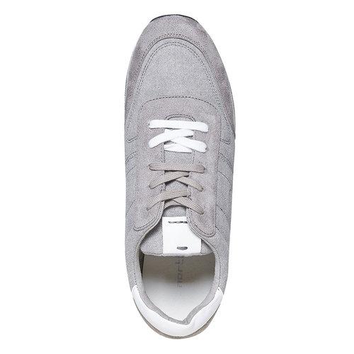 Sneakers grigie da uomo north-star, bianco, 849-1501 - 19