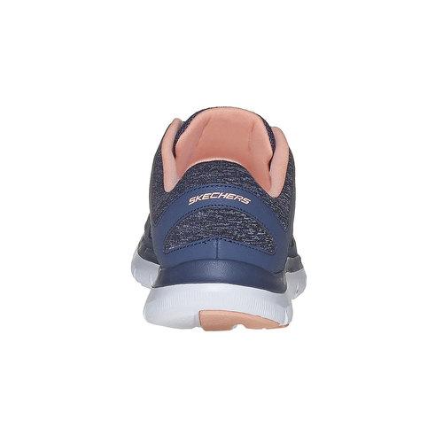 Sneakers sportive da donna skechers, blu, 509-9963 - 17