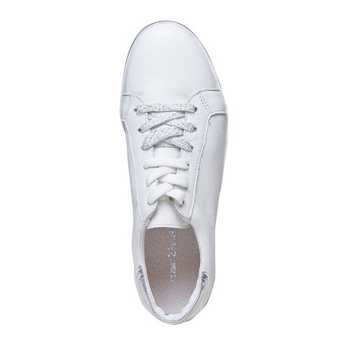 Sneakers bianche casual north-star, bianco, 544-1206 - 19