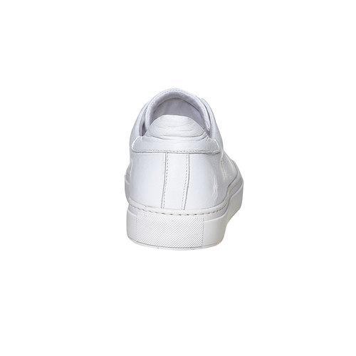 Sneakers da uomo in pelle bata, bianco, 844-1687 - 17