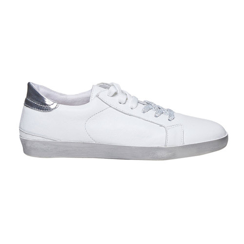 Sneakers bianche casual north-star, bianco, 544-1206 - 15