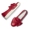 Slip on in pelle rosse north-star, rosso, 514-5264 - 19